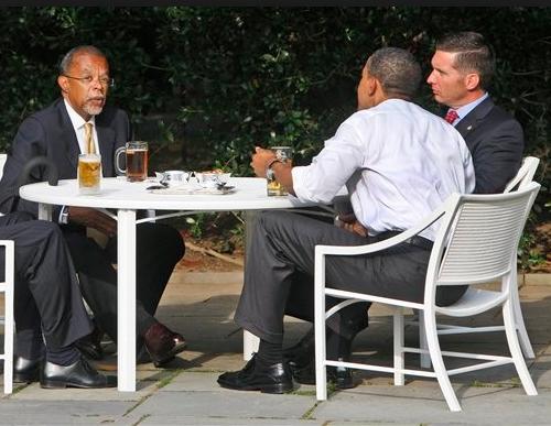 beer obama gates