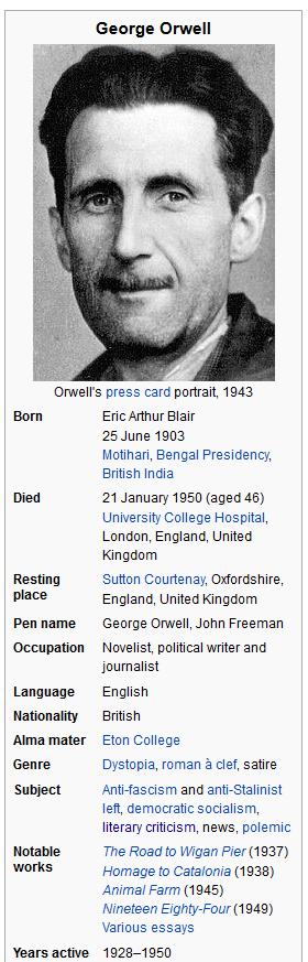 george orwell good 999