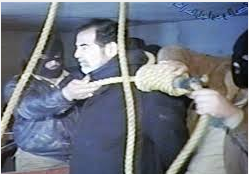 saddam hanging year 2006